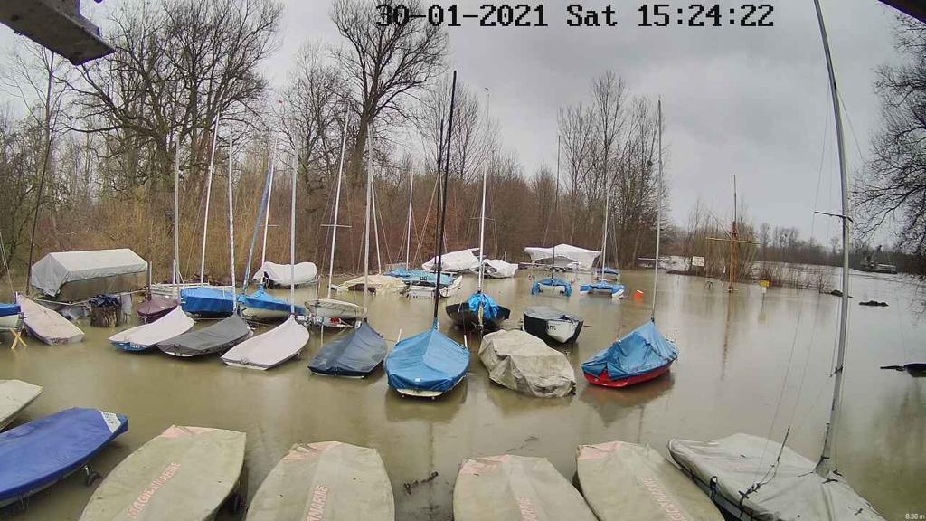 Hochwasser am 30.01.2021